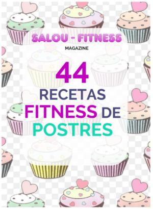 imagen del libro de recetas de postres fitness gratis